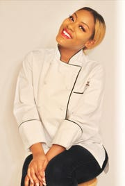 When Chef Adanus Harris went vegan, she changed her business model as well, with vegan cuisine by Inspirationallly Dished.