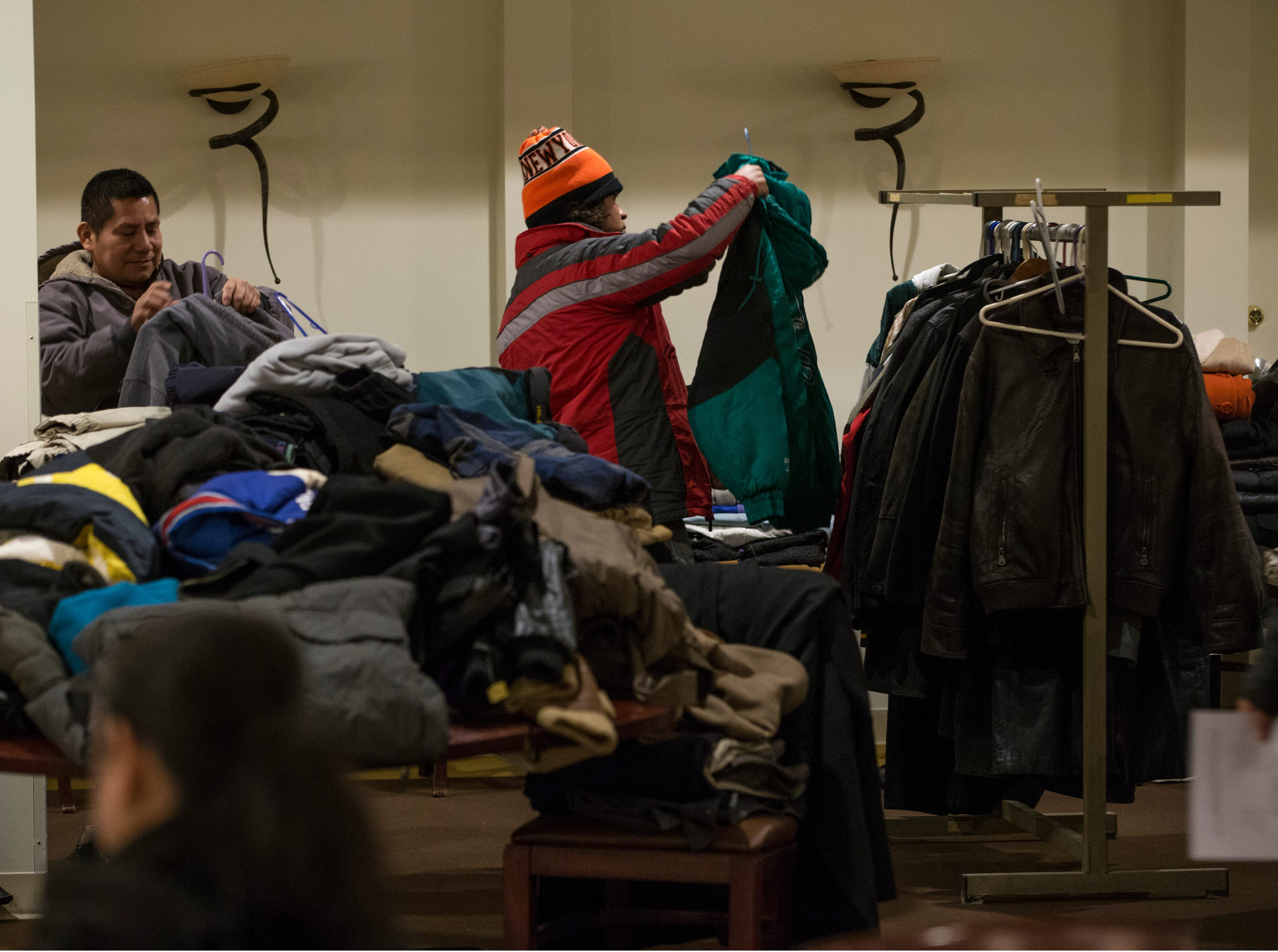 New Jersey housing advocates conduct the state's annual NJCounts, a point-in-time count of homelessness.       Freehold, NJWednesday, January 23, 2019