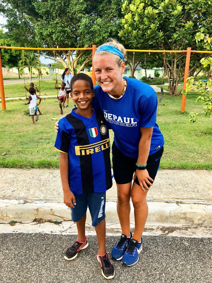 St. John Vianney alum Kelly Campbell recognized for service projects in Guatemala and Dominican Republic