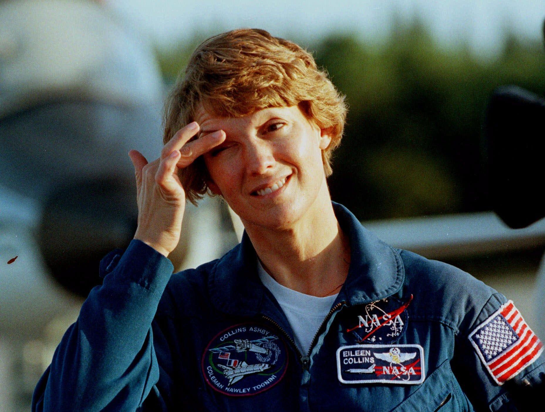 Elmira native and NASA astronaut Eileen Collins.
