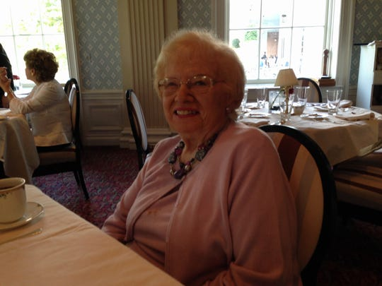 Alberta Sherman loved to play cards with her friends at the senior center.