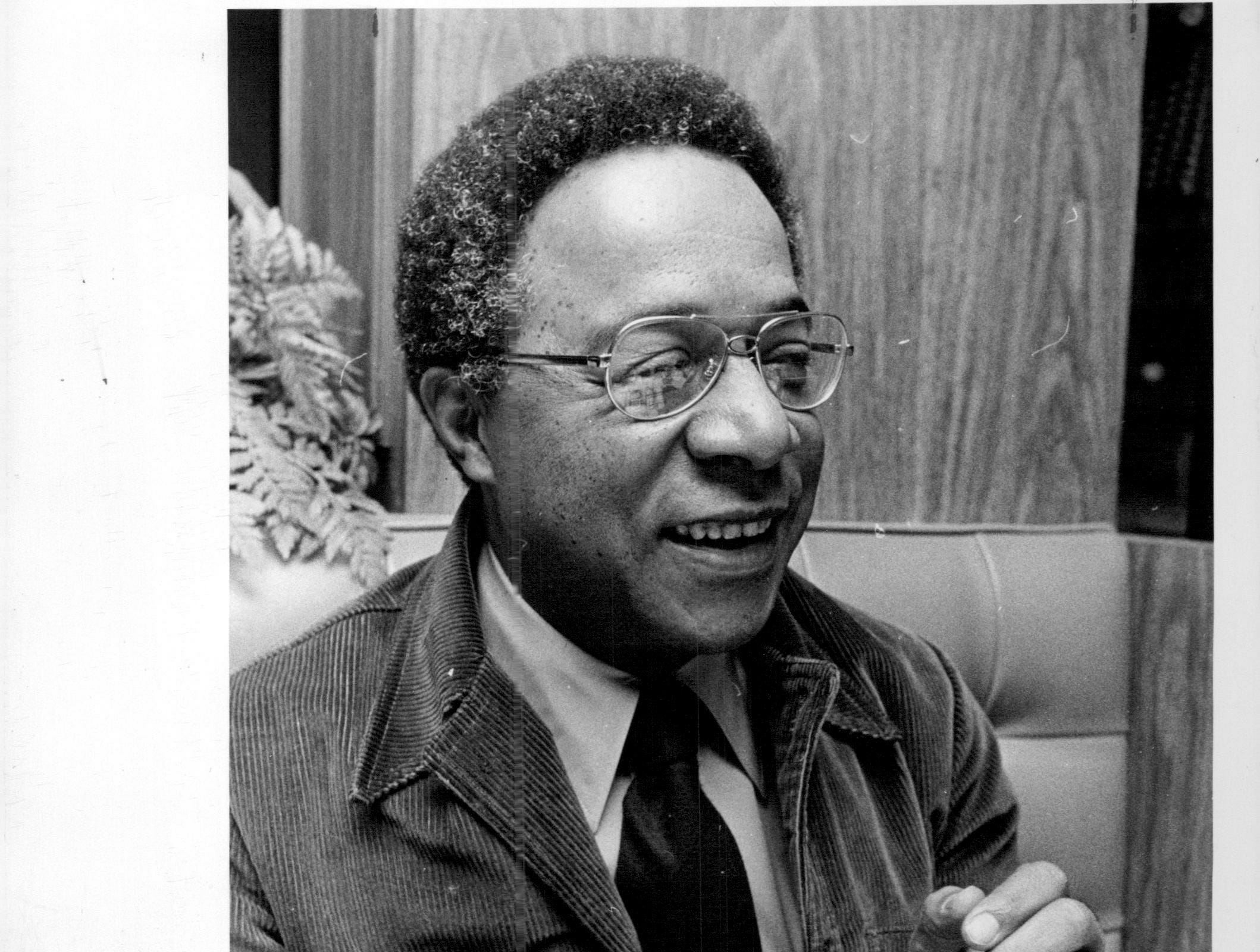 """Roots"" author and Ithaca native Alex Haley."