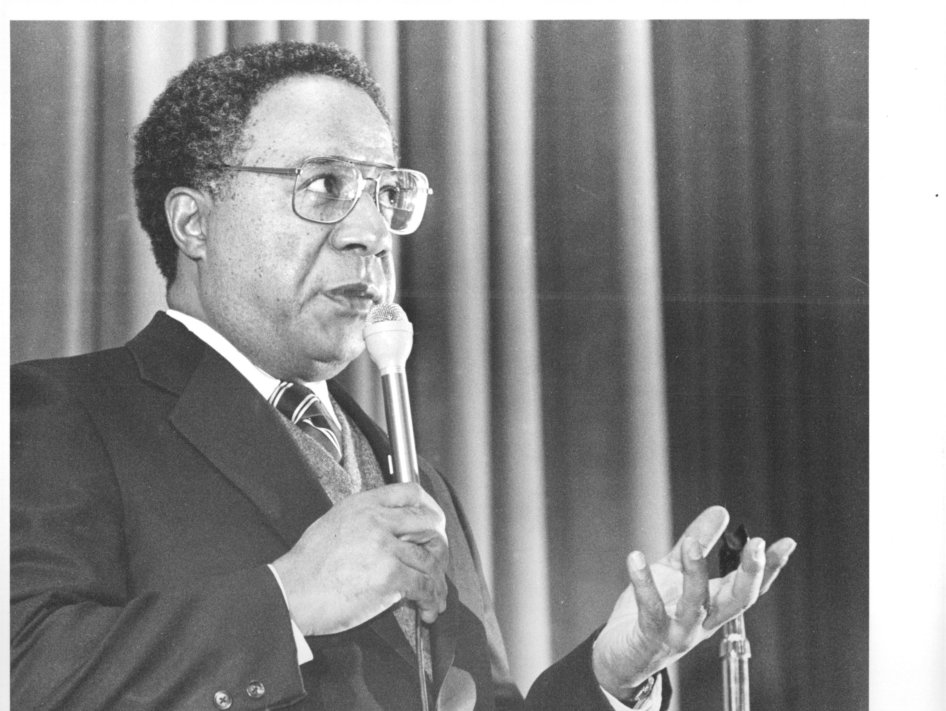 """""""Roots"""" author and Ithaca native Alex Haley."""