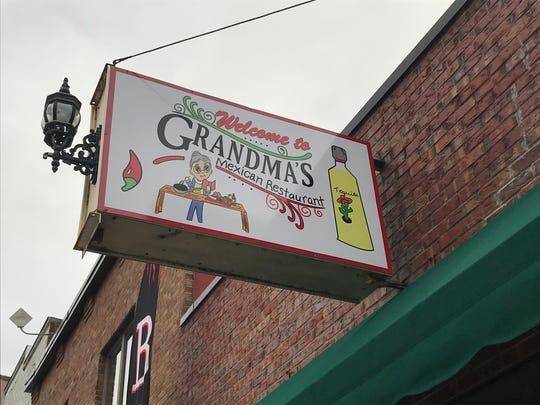 Grandma's Mexican Restaurant is named for the grandma of the restaurant's owner, Mila Martinez.