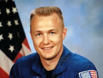 Endicott NY native , Owego Free Academy graduate and NASA astronaut Marine Corps. Lt Col. Douglas G. Hurley.