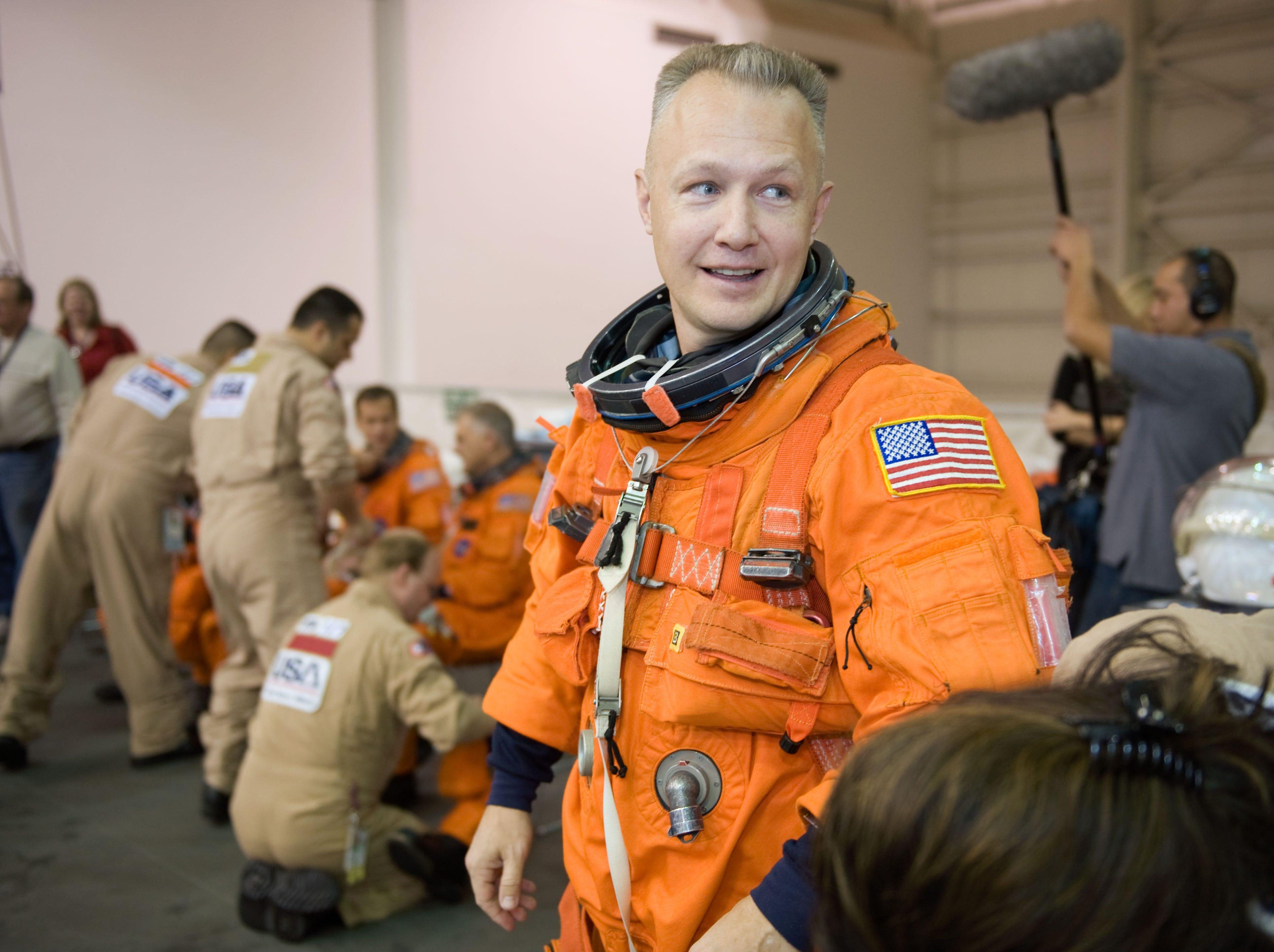 Endicott native , Owego Free Academy graduate and NASA astronaut Marine Corps. Lt Col. Douglas G. Hurley.