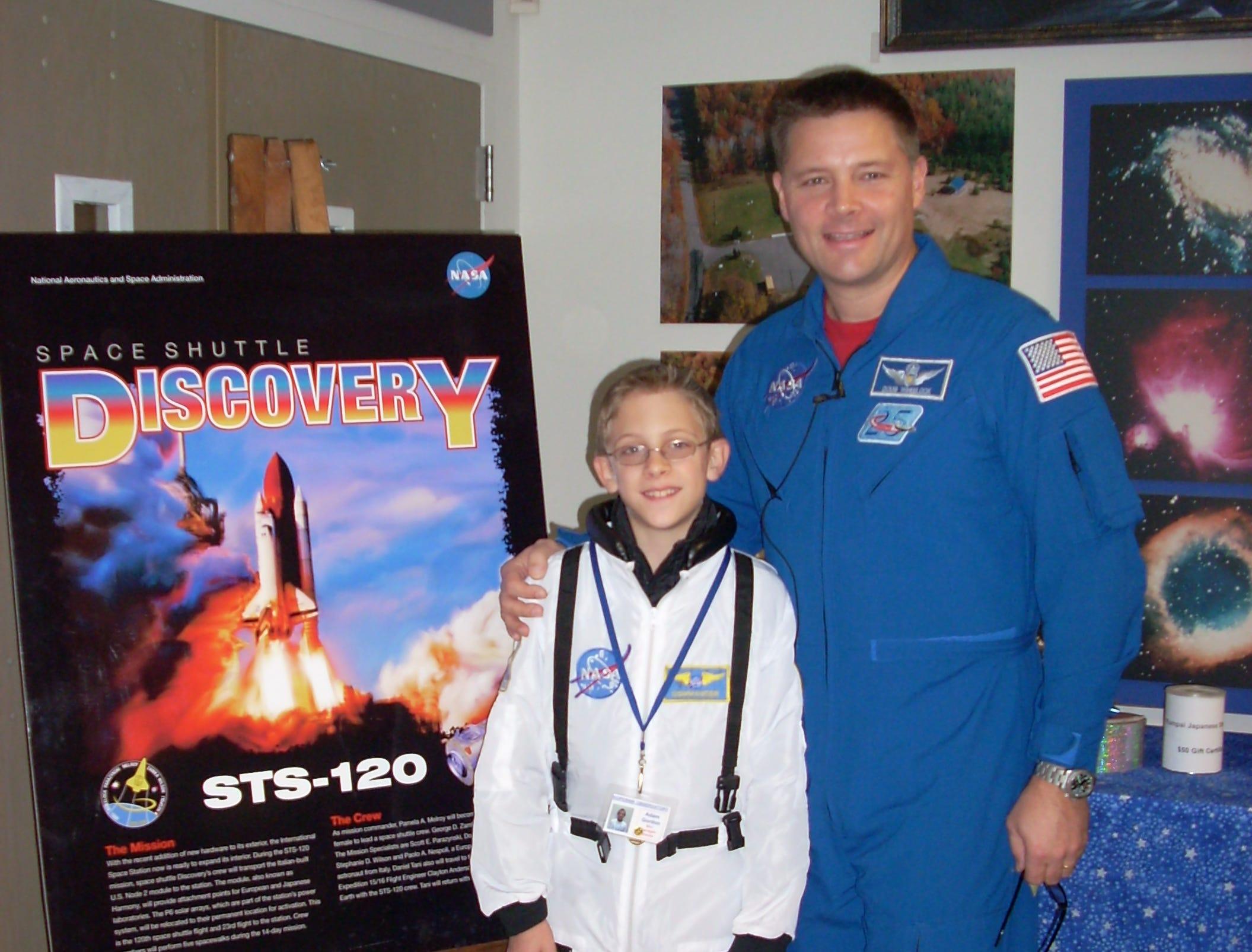 Douglas H. Wheelock, NASA astronaut, was born in Binghamton and graduated from Windsor High School.
