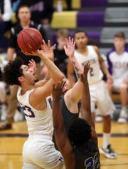 North Kitsap junior Shaa Humphrey averaged 17 points and seven rebounds for the Vikings this season. Humphrey is the Kitsap Sun boys basketball player of the year for 2019.