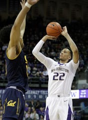 Dominic Green has given Washington a scoring boost off the bench, averaging 9.2 points per game in Pac-12 play.