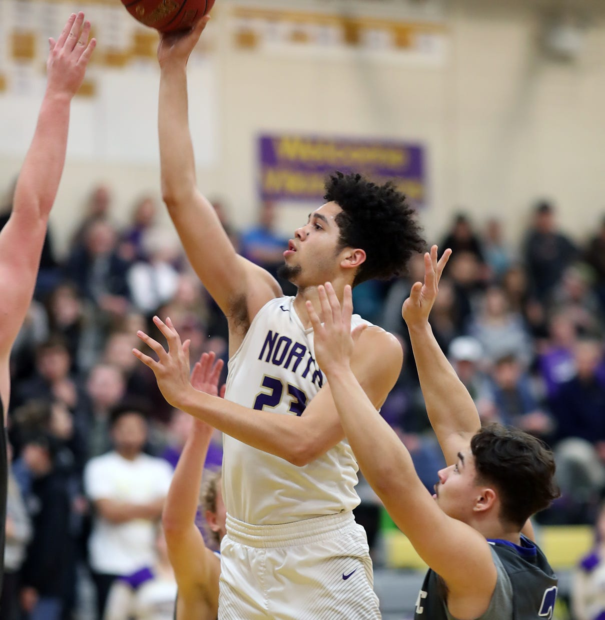 Basketball: North Kitsap boys, girls sweep Olympic