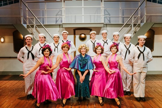 """Anything Goes"" is on stage at The Cocoa Village Playhouse through Feb. 10."
