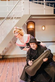 """""""Anything Goes"""" is on stage at The Cocoa Village Playhouse through Feb. 10."""