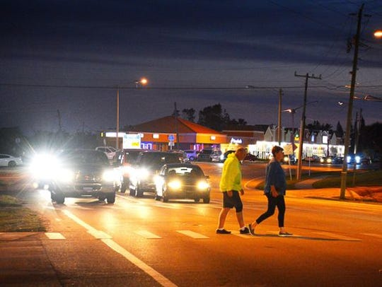 A national report says Brevard County is still a national leader in being unsafe for pedestrians.