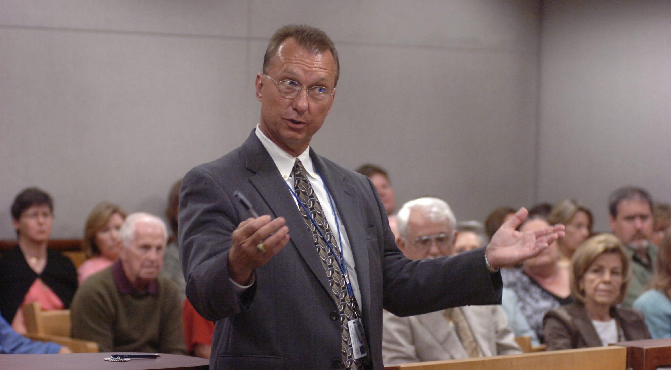 Prosecutor Rob Parker
