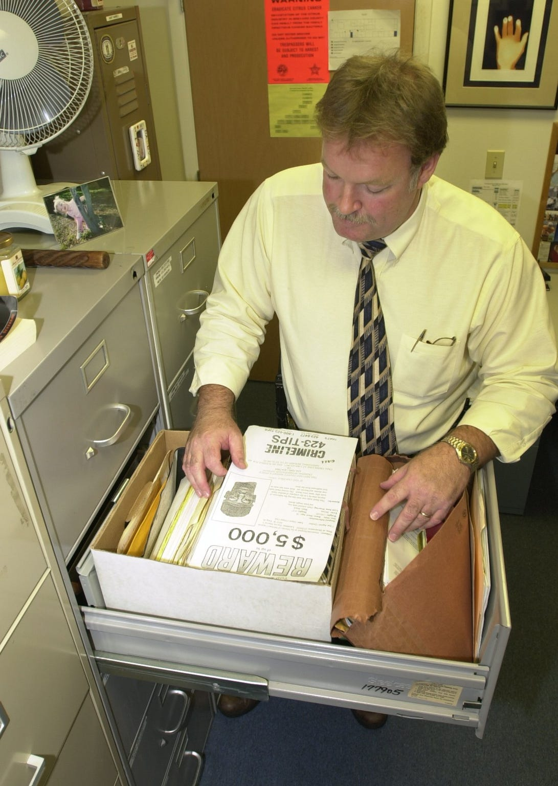 Brevard County homicide detective Gary Harrell