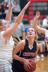 Crestview's Kenedi Goon has the Lady Cougars poised to win their first Firelands Conference championship since 2006-07.