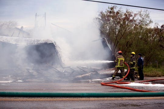 The Corpus Christi Fire Department responded to a fire in the 700 block of South Port Avenue on Wednesday, January 23, 2019.