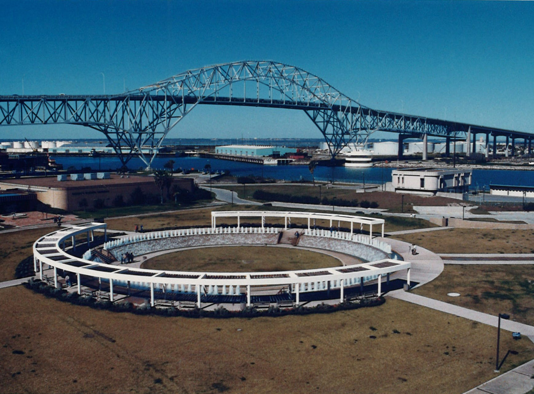 The Watergarden in Corpus Christi in the Bayfront Arts and Science complex on Feb. 7, 1989.