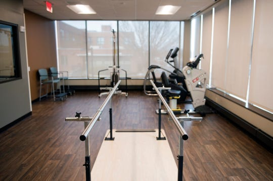 A physical therapy room inside the new Virtua Health & Wellness Center Wednesday, Jan. 23, 2019 in Camden, N.J.