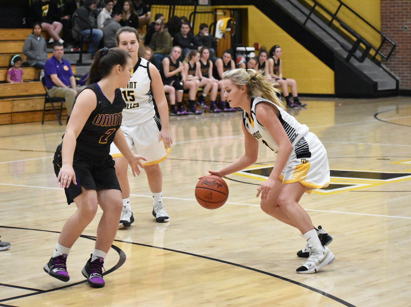 Unioto girls basketball defeated Paint Valley 51-19 at Paint Valley High School on Tuesday as the Shermans remained undefeated in the SVC.