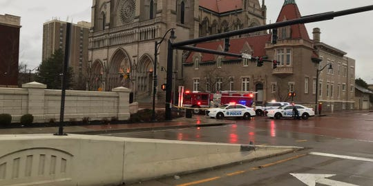 Police are on the way to investigate suspicious packages at the Diocese of Covington, according to Kenton County dispatchers.