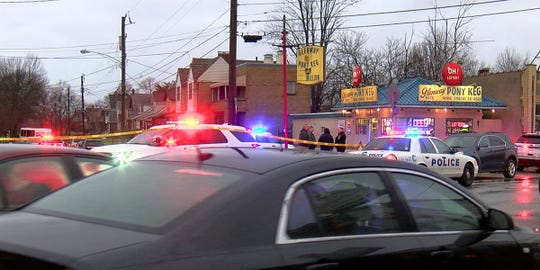 Police responded to a fatal shooting Wednesday at the Glenway Pony Keg.