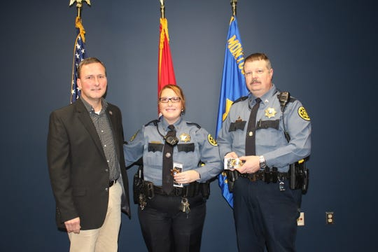 The Montgomery County Sheriff's Office would like to congratulate Corporal Shanna Grice and Corporal Derrick Carroll on their promotion to Sergeant.