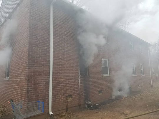 Some tenants were displaced Wednesday by a mattress that spread smoke throughout a Pardun Road apartment building in North Brunswick.
