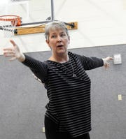 Holli Rainwater teaches a chi class focused on Qigong at 10 a.m. Thursday at Roscoe United Methodist Church. The practice similar to Tai Chi uses body movement, breath practice and deep relaxation to heal the body and open up energy pathways, similar to acupuncture without the needles.