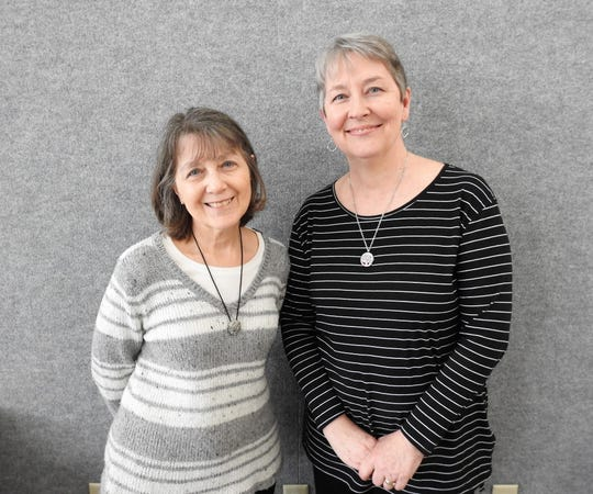 """Robin Mullet and Holli Rainwater recently released """"The Curve of Her Arm"""" a collection of poetry inspired by Qigong, an ancient Chinese healing system similar to Tai Chi. An evening of performance poetry featuring readings and demonstrations will be Jan. 31 at the Johnson-Humrickhouse Museum."""