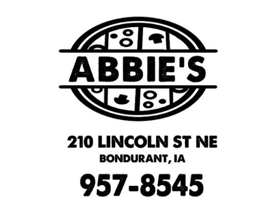 The new logo of Abbie's in Bondurant.