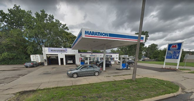 Marathon gas station on Michigan Avenue in Inkster.