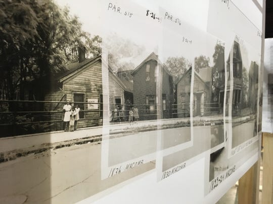 """The """"Black Bottom Street View"""" exhibition at the Detroit Public Library brings the Detroit neighborhood of Black Bottom back to life."""