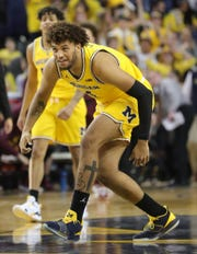 Michigan forward Isaiah Livers during the second half on Tuesday, January 22 , 2019 at Crisler Center in Ann Arbor.