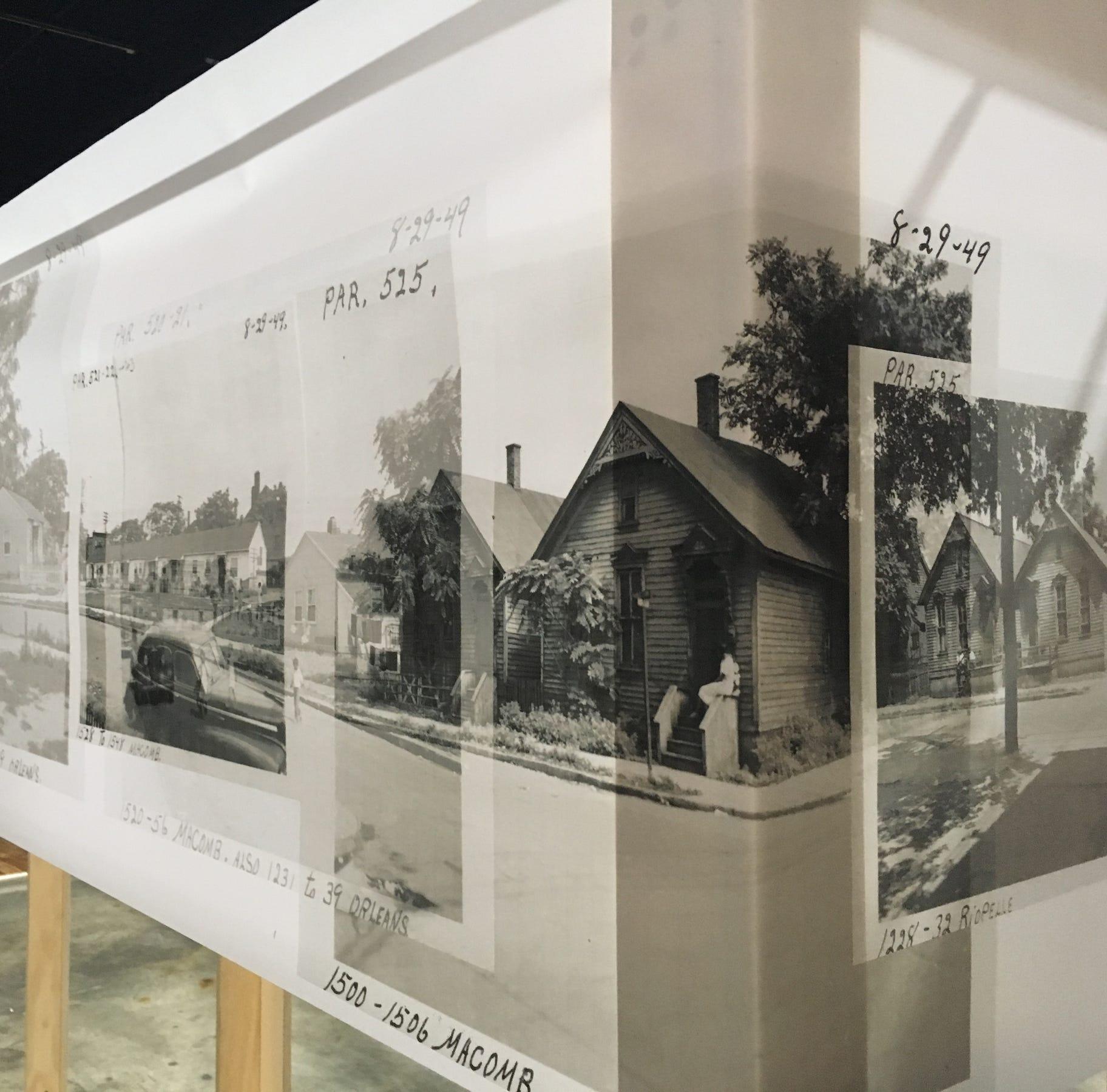 Detroit's Black Bottom neighborhood resurrected in photo exhibit