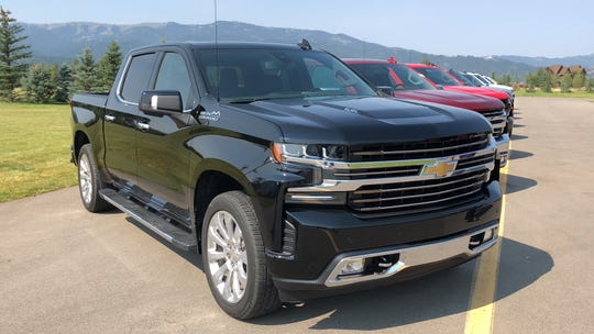 The Chevrolet Silverado tied with the Toyota Camry for second, with 14.1 percent of Detroit-area owners keeping their vehicle at least 15 years. 2019 model shown.