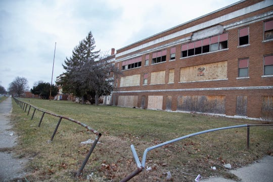 A Brooklyn arts entrepreneur bought for cheap several abandoned schools, including George W. Ferris School on Cortland Street in Highland Park.
