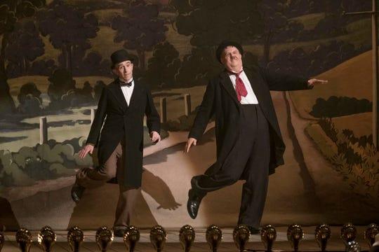 "Steve Coogan and John C. Reilly in ""Stan & Ollie."""