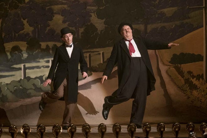"Steve Coogan and John C. Reilly in ""Stan & Ollie."""