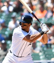 Tigers third baseman Jeimer Candelario clubbed 19 home runs in his first full season in Detroit.