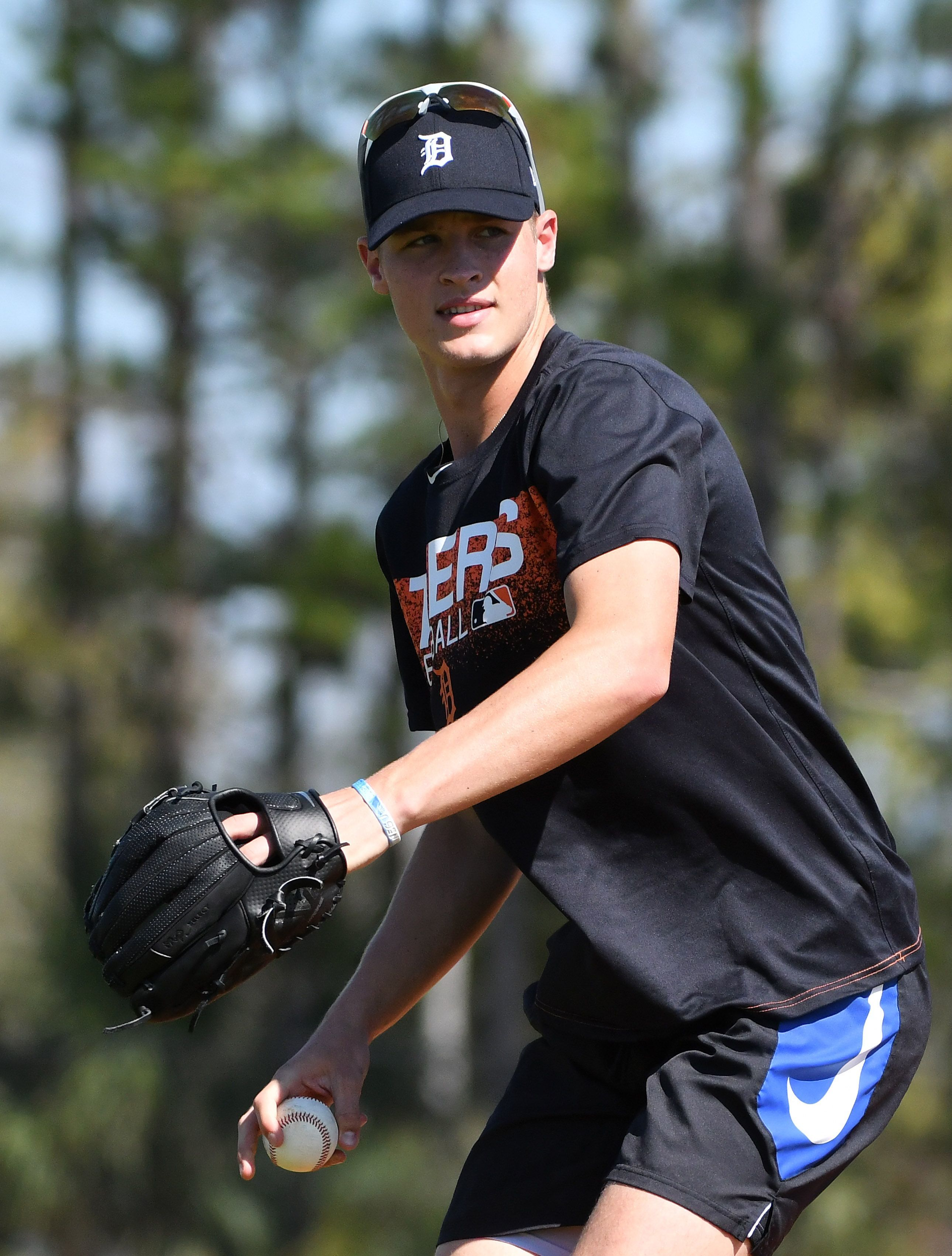 Tigers right-handed pitching prospect Matt Manning is ranked No. 50 in Baseball America's top 100 for 2019.