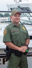 "Border Patrol Agent Brian Maitland is working without pay because of the government shutdown, but he said saving the life of a man considering suicide on a bridge in Newport, Michigan, this month was his duty. ""Anybody in law enforcement or fire or EMS would have done the same thing,"" he said."