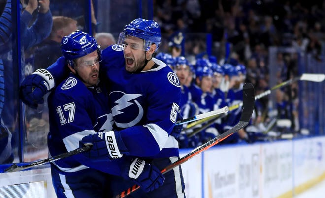 The Tampa Bay Lightning own the NHL's best record at 37-10-2 for 76 points.