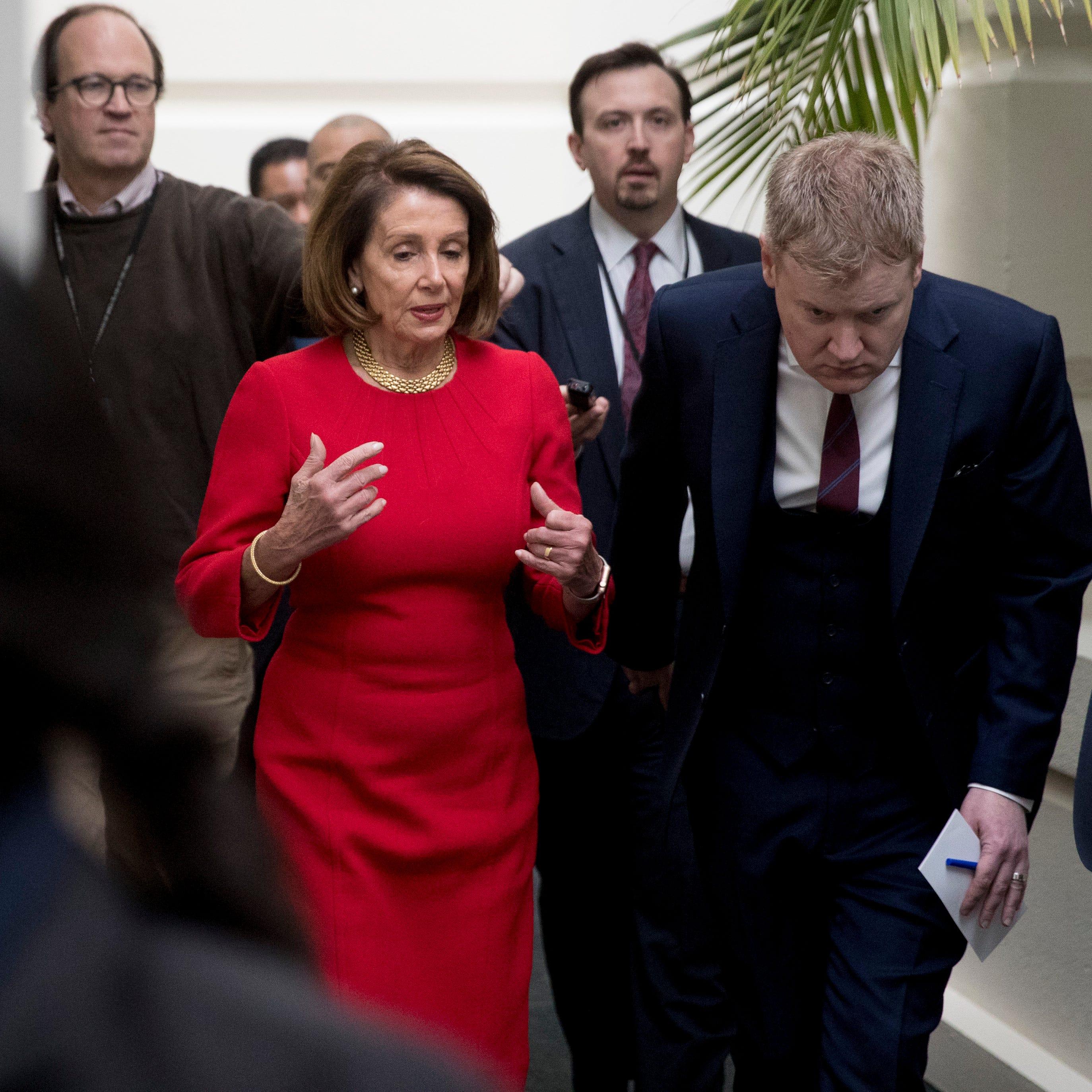 Pelosi denies Trump House access for SOTU