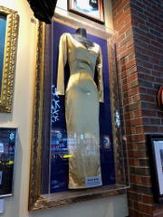 "A dress worn by Diana Ross on the cover of her 1991 Motown release ""The Force Behind the Power"" may be sent to another Hard Rock property after the Detroit restaurant closes."