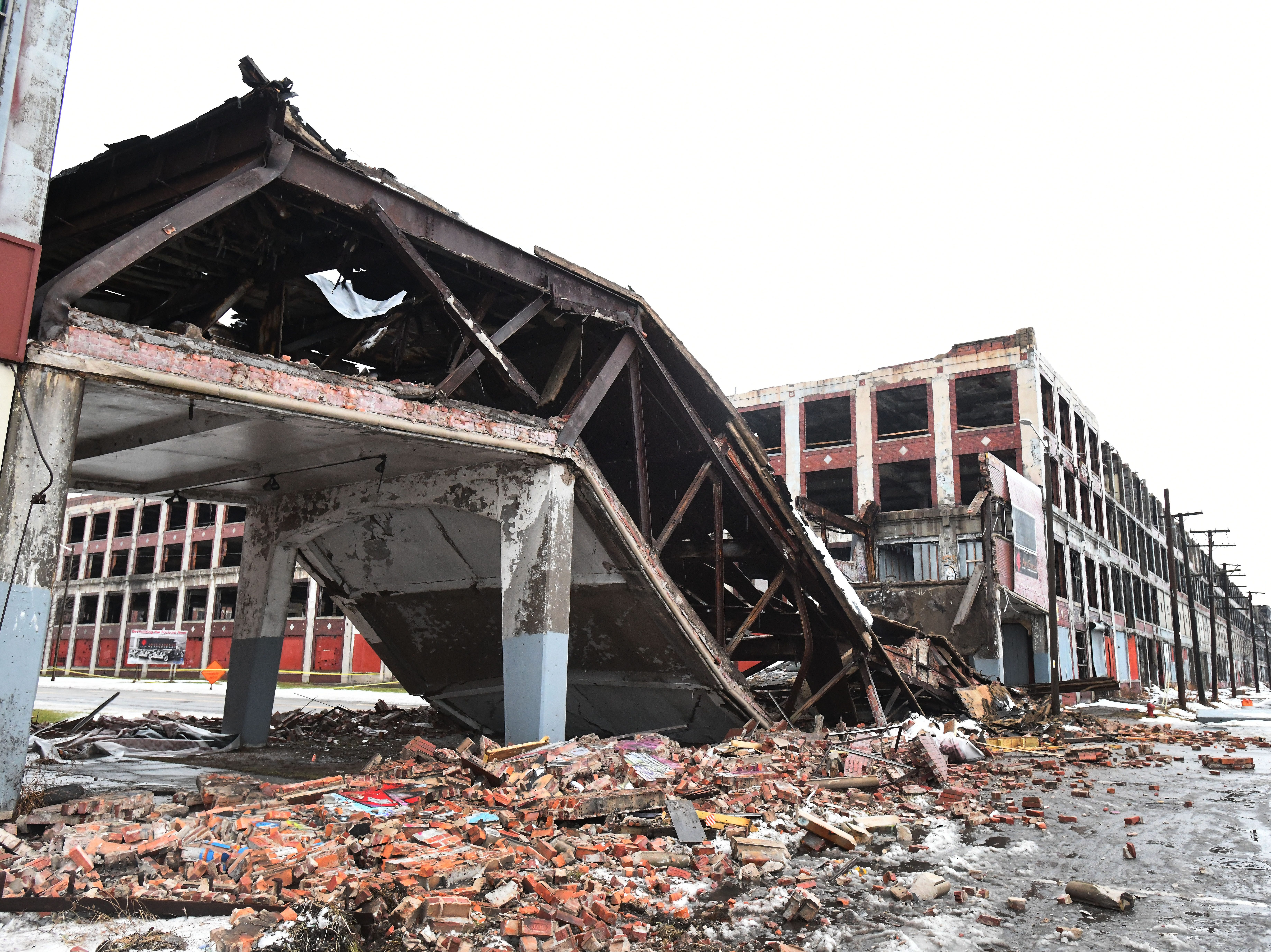 """The best we can determine is that it was a pre-existing structural issue, due to temperature fluctuations that caused the collapse,"" Joe Kopietz, a spokesman for Arte Express"