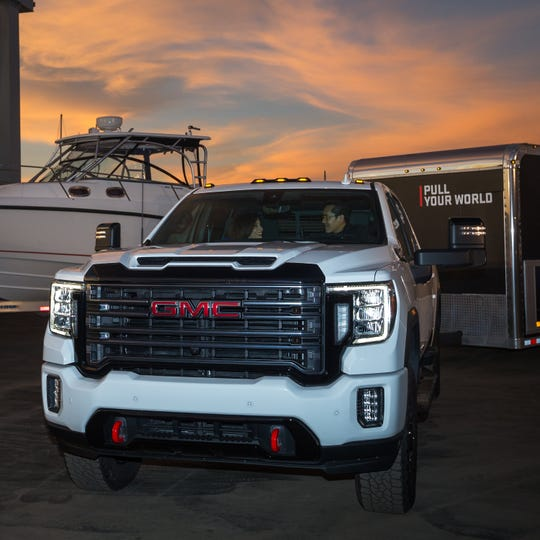 Highly profitable pickups and SUVs — like the redesigned 2020 GMC Sierra Heavy Duty pickups that debuted Tuesday here — will play a crucial role as GM undergoes a restructuring this year amid a growing number of economic obstacles.configurations. (GMC News Photo)