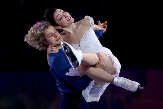 Former partners Meryl Davis and Charlie White are no longer staking competitively.