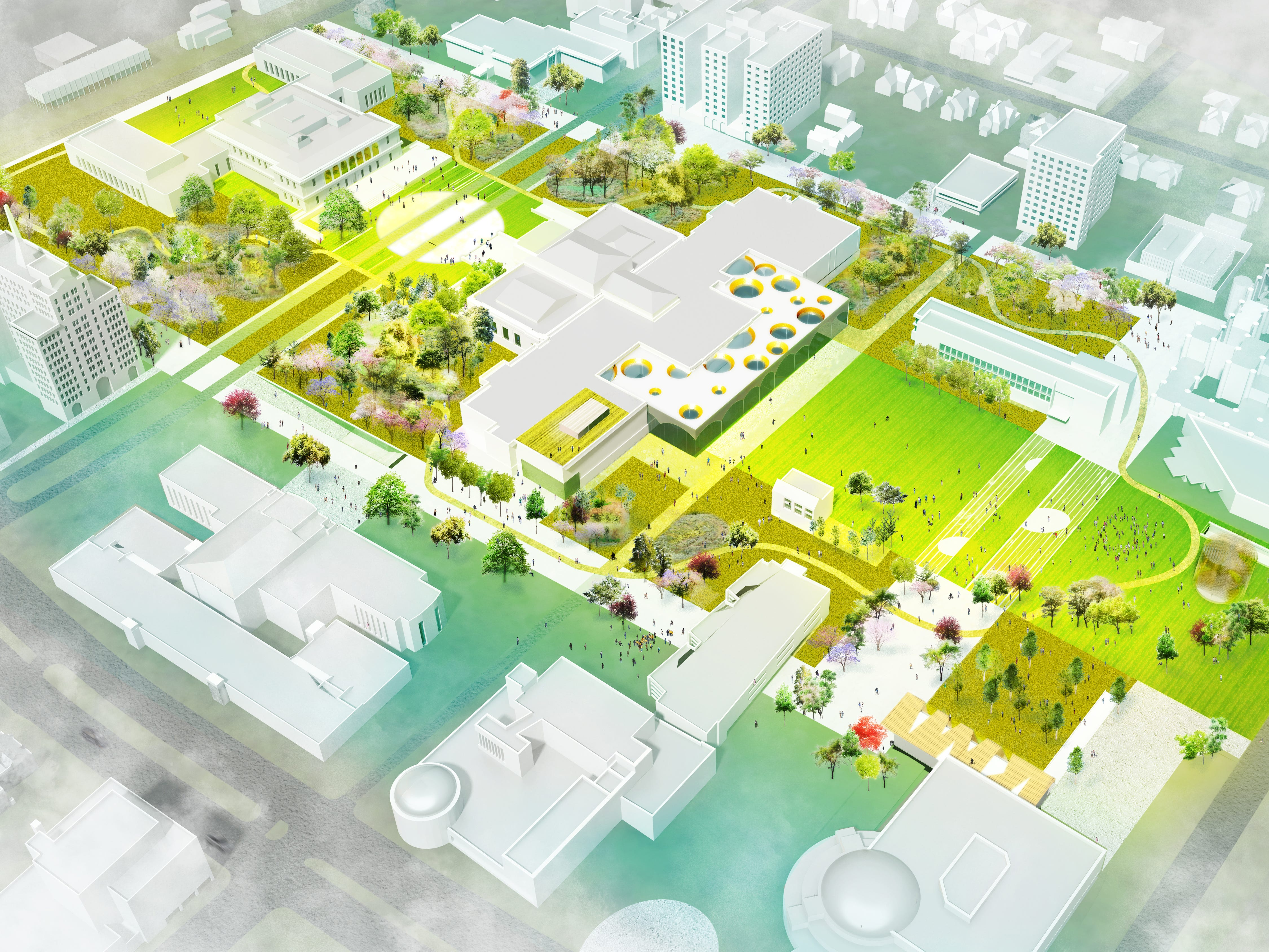 These are the changes proposed by the finalist team Agence Ter in the DIA Plaza/Midtown Cultural Connections design competition.
