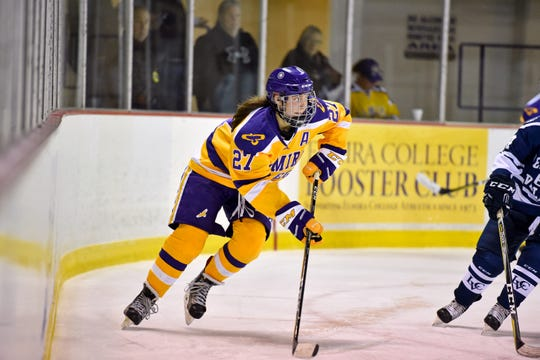 Katie Granato helped Elmira College reach the NCAA Division III championship game in 2017-18.